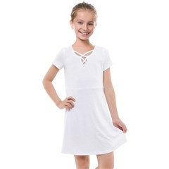 Kids  Cross Web Dress
