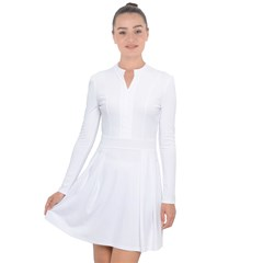 Long Sleeve Panel Dress