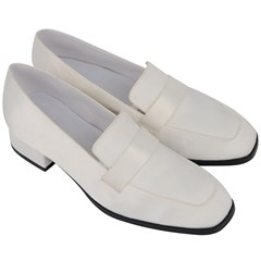 Women s Chunky Heel Loafers