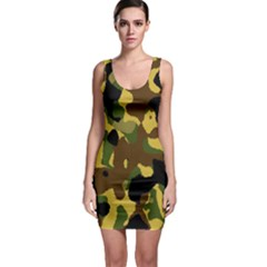 Camo Pattern  Bodycon Dress