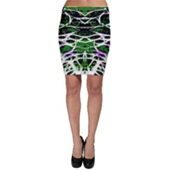 Officially Sexy Panther Collection Green Bodycon Skirt by OfficiallySexy
