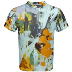 Abstract Country Garden Men s Cotton Tees by digitaldivadesigns