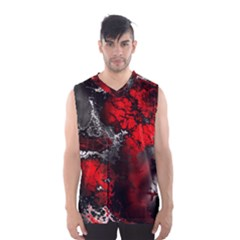 Amazing Fractal 25 Men s Basketball Tank Top by Fractalworld