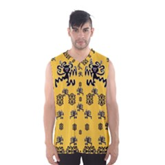 Disco Dancing In The  Tribal Nature  Men s Basketball Tank Top by pepitasart