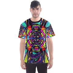 Planetary Vortex   Men s Sport Mesh Tee by tealswan