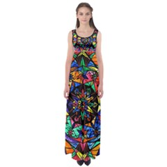 Reveal The Mystery   Empire Waist Maxi Dress by tealswan