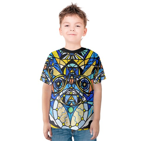 Sirian Solar Invocation Seal - Kids  Cotton Tee by tealswan