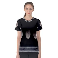 Moon Phase Women s Sport Mesh Tee