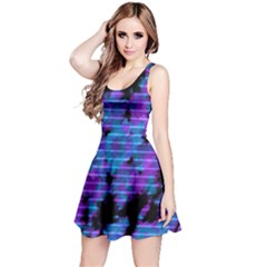 Purple 3 Reversible Sleeveless Dress