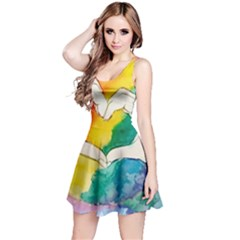 Pride Love Reversible Sleeveless Dress