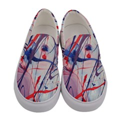 Messy Love Women s Canvas Slip Ons