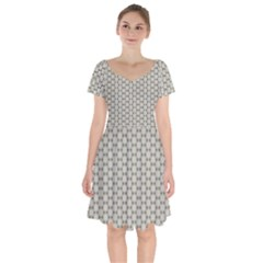 Background Website Pattern Soft Short Sleeve Bardot Dress by Celenk