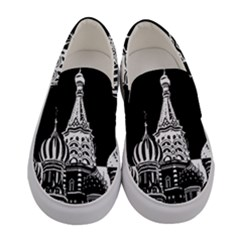 Moscow Women s Canvas Slip Ons