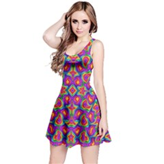 Colorful-11 Reversible Sleeveless Dress by ArtworkByPatrick