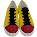 Gadsden Flag Don t tread on me Men s Low Top Canvas Sneakers View1