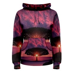 Flight Landscape Nature Sky Women s Pullover Hoodie