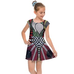 Kids  Cap Sleeve Dress by ThatsWraps