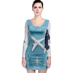 10404494 10205100583383249 7497295918738856096 N 75732092 Xl Long Sleeve Bodycon Dress by CowCowShoes
