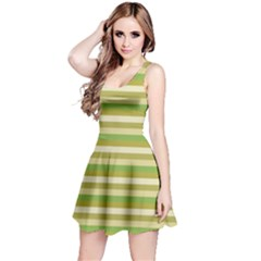 Stripey 11 Reversible Sleeveless Dress by anthromahe