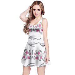 Folk Ornament Reversible Sleeveless Dress