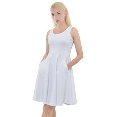 Knee Length Skater Dress With Pockets Icon